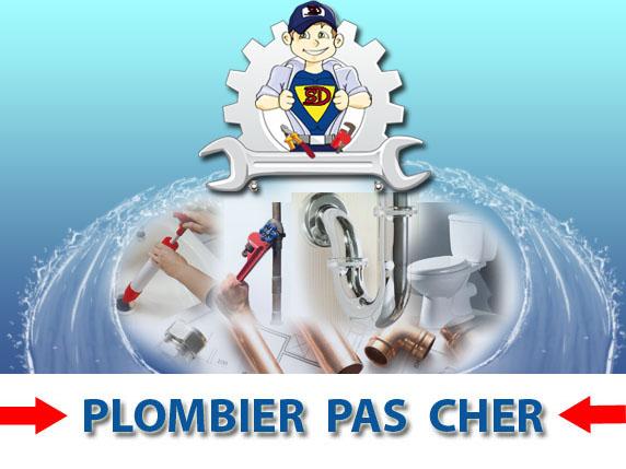 Wc bouché Paris 9